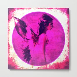 Wings of the Monarch Metal Print