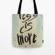 Less is More - Los Angeles -  Tote Bag