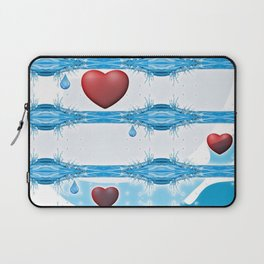 In Loving Memory. Laptop Sleeve