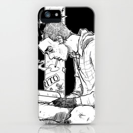 Streets and Words iPhone Case