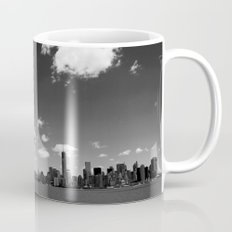 NYC Skyline B&W Coffee Mug
