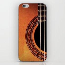 Acoustic Guitar iPhone Skin