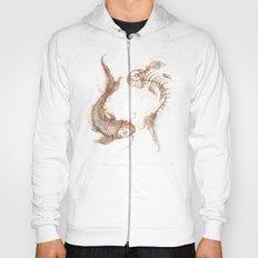 Yin Yang Fish Hoody