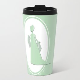 The Historical Fashion Plate Series: Regency Queen Travel Mug