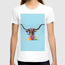 Hipster Longhorn T-shirt