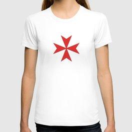 malta knights cross T-shirt