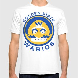 Golden State Warios - Mushroom Kingdom Champs T-shirt