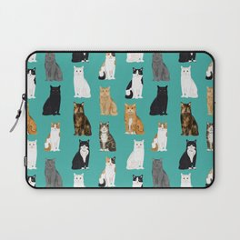 Cat lover must have gifts for cat ladies cat men kitty cats Laptop Sleeve