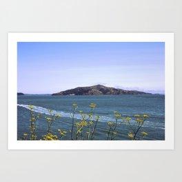 Wild Flower Bay Art Print
