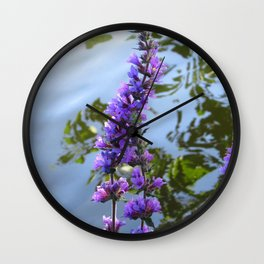Lakeside View Wall Clock