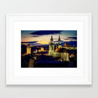 prague Framed Art Prints featuring Prague by EclipseLio