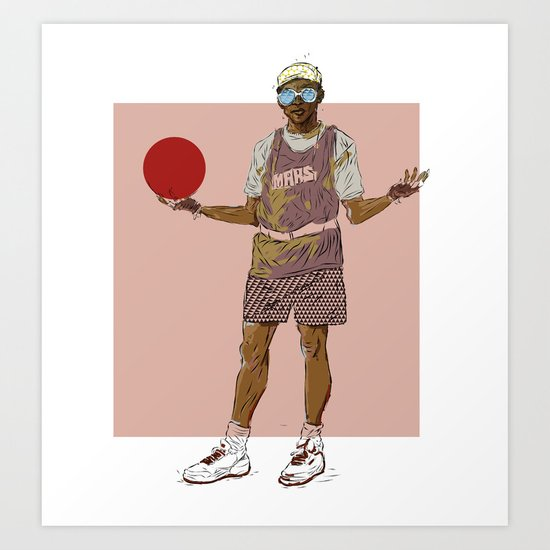 Spike Lee , Do The Right Thing ? Art Print