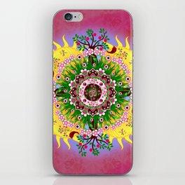 Garden Blessings Om iPhone Skin