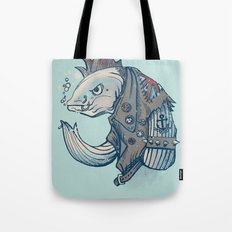 Punk Fish Tote Bag