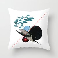 2001 Throw Pillows featuring 2001 by lina