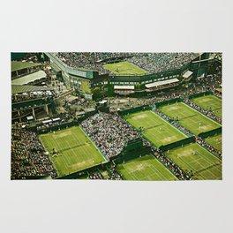 Wimbledon Tennis Rug