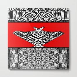 Grace Zebra Metal Print