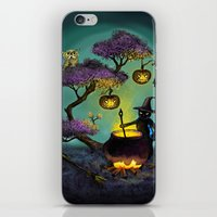 halloween iPhone & iPod Skins featuring Halloween by Anna Shell