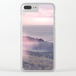Sunset v2 Clear iPhone Case