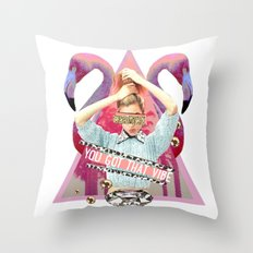You Got That Vibe. Throw Pillow
