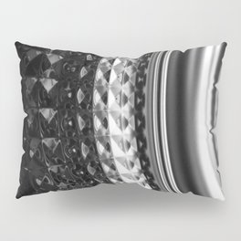 Shimmering textures of laundry machine drum -- Everyday art Pillow Sham