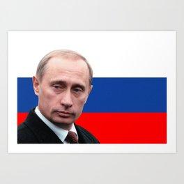 Putin IS President Art Print