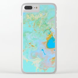 Aerial Journeys 2 - Diptych Clear iPhone Case