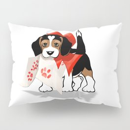 The Love Puppy—Love Letter Pillow Sham