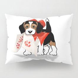 The Love Puppy—Love Letter Pillow Sham