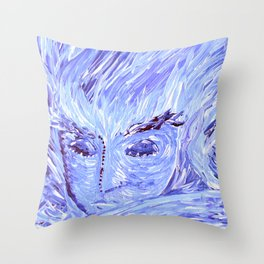 Frozen Man Throw Pillow