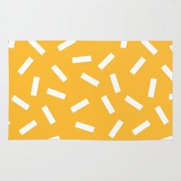 White + Macaroni Rug