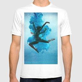 Ballet Dancer in Deep Sea. T-shirt