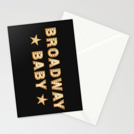 Broadway Baby! Stationery Cards