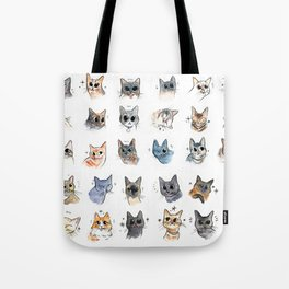 50 cat bleps! Tote Bag