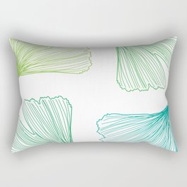 Ginkgo Leaves_color Rectangular Pillow