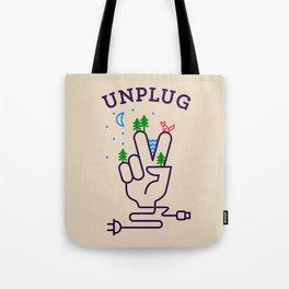 UNPLUG Tote Bag