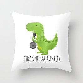 Tyrannosaurus Flex Throw Pillow
