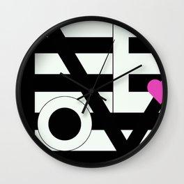 Love is Love 2 Wall Clock