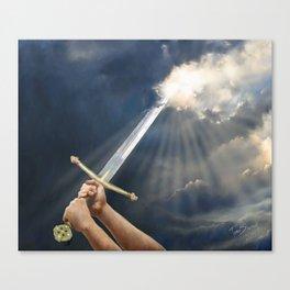Sword of the Spirit Canvas Print