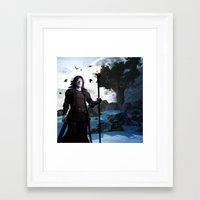 merlin Framed Art Prints featuring Merlin by Gabor Gabriel Magyar