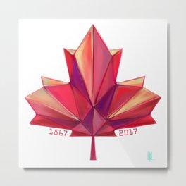 Canada 150 // Warm Metal Print