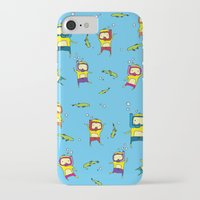 scuba iPhone & iPod Cases featuring Scuba Scuba by Steph Chen