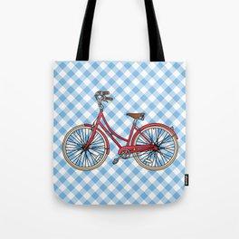 His Bicycle Tote Bag