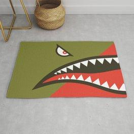 Fighter Shark Rug
