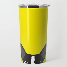 Boston Terrier Yellow Travel Mug
