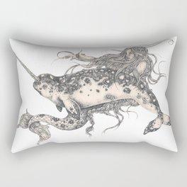 Ida & The Narwhal Rectangular Pillow