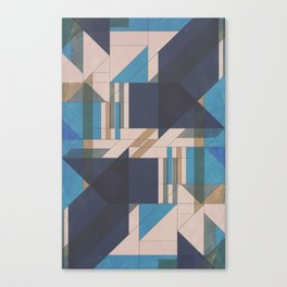 Abstract Glass Canvas Print