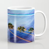 palms Mugs featuring Palms by Psocy Shop