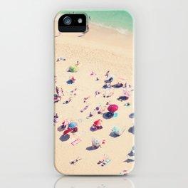beach summer in love iPhone Case