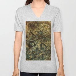 Jupiter's Clouds 2 Unisex V-Neck